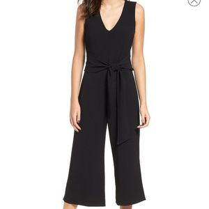 ASTR The Label Cropped Wide Leg Jumpsuit